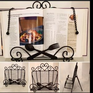 COPY - Decorative cookbook holder/stand